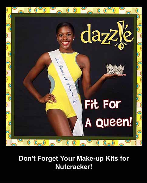 dazzle fit for a queen
